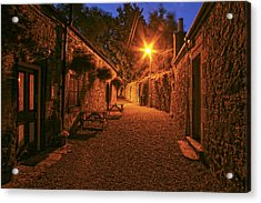 Down The Alley Acrylic Print