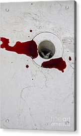 Down The Drain Acrylic Print