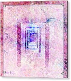 Down The Hall Acrylic Print