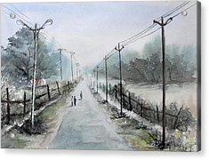Down The Lane Acrylic Print