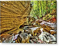 Down The River Acrylic Print by Kevin Kuchler