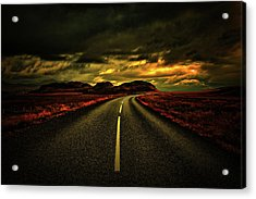 Acrylic Print featuring the photograph Down The Road by Scott Mahon