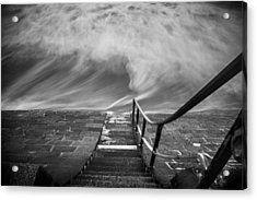 Down The Sea Acrylic Print by Cl?ment Delarue