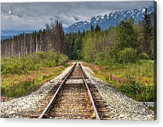 Down The Tracks Acrylic Print