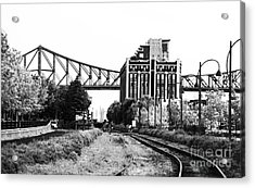 Down The Tracks Acrylic Print