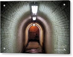 Down The Tunnel Acrylic Print