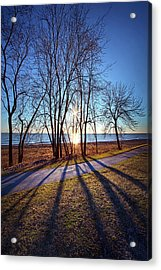 Acrylic Print featuring the photograph Down This Way We Meander by Phil Koch