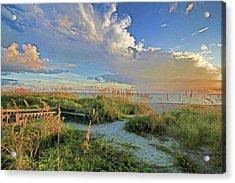 Down To The Beach 2 - Florida Beaches Acrylic Print