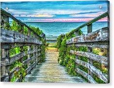 Down To The Beach Acrylic Print