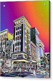 Down Town  Acrylic Print