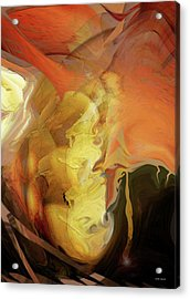 Down Under Acrylic Print by Linda Sannuti