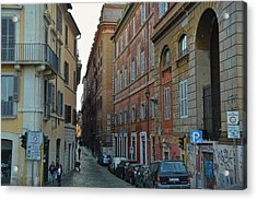 Down Via Giulia Acrylic Print by JAMART Photography