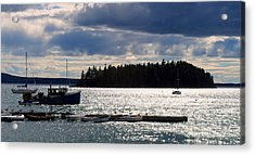 Downeast Reflections Acrylic Print by Steven Scott