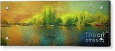 Downriver Glow Acrylic Print