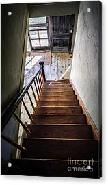 Downstairs Acrylic Print by Scott Thorp