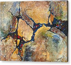 Downstream Acrylic Print