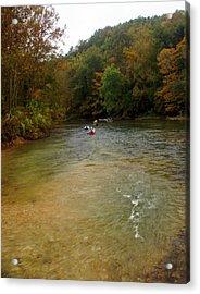 Downstream Acrylic Print by Marty Koch