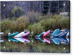 Downtime At Beaver Lake Acrylic Print