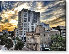 Downtown Appleton Skyline Acrylic Print