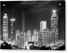 Downtown Atlanta Skyline Acrylic Print