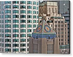 Acrylic Print featuring the photograph Downtown Blend by Kim Wilson