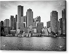 Downtown Boston Acrylic Print