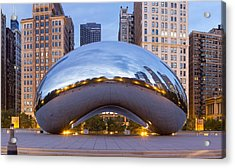 Downtown Chicago In The Morning Acrylic Print