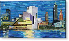 Downtown Cleveland Skyline  Acrylic Print