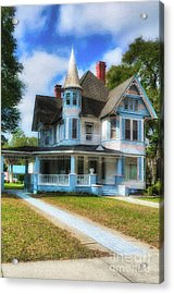 Acrylic Print featuring the photograph Downtown De Funiak Springs # 4 by Mel Steinhauer
