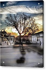 Downtown Hdr Atchison Acrylic Print by Dustin Soph