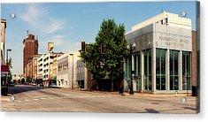 Downtown Huntington West Virginia Acrylic Print by L O C