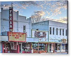 Downtown Junction Texas Acrylic Print by JC Findley