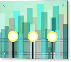 Downtown Acrylic Print