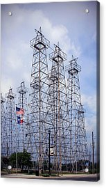 Downtown Kilgore Texas Acrylic Print by Gayle Johnson