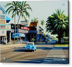 Downtown Lahaina Maui Acrylic Print