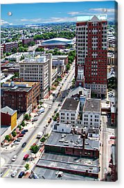 Downtown Manchester Acrylic Print