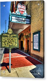 Downtown Maysville Kentucky Acrylic Print