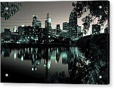 Downtown Minneapolis At Night II Acrylic Print