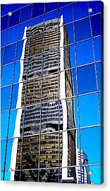 Downtown Montreal Acrylic Print by Juergen Weiss