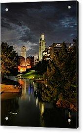 Downtown Omaha Acrylic Print