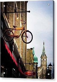 Downtown Port Washington, Wisconsin Acrylic Print