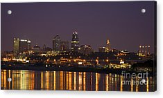 Downtown Reflections Acrylic Print