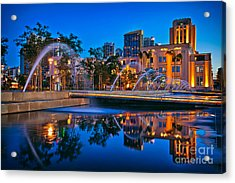 Downtown San Diego Waterfront Park Acrylic Print