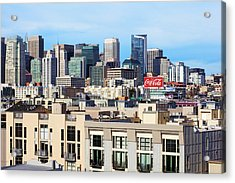 Downtown San Francisco Acrylic Print by Kelley King