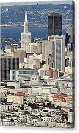 Downtown San Francisco Acrylic Print by Pierre Leclerc Photography