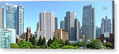 Acrylic Print featuring the photograph Downtown San Fransisco by Mike McGlothlen