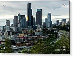 Downtown Seattle,washington Acrylic Print