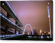 Downtown St. Louis From The East Side Acrylic Print