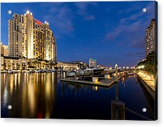 Downtown Tampa Acrylic Print