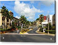 Downtown Tamuning Guam Acrylic Print
